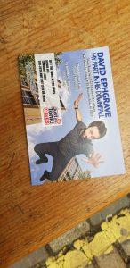 Edinburgh Fringe flyer