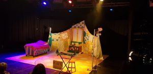 Edinburgh Fringe Chores Circus performance set