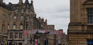Edinburgh Fringe Festival Street