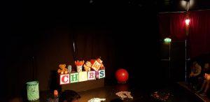 Edinburgh Fringe Chores set and props