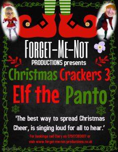 inclusive arts Elf the Panto