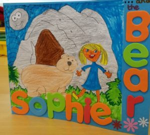 Sophie and the Bear innovative lead creative school project