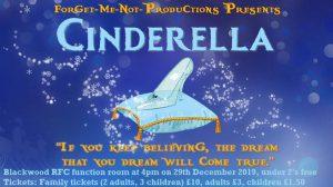 Cinderella inclusive arts poster